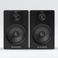m-audio m bx8 3d model