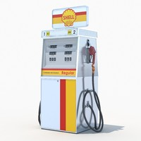 3d shell fuel dispenser