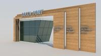 gate sites 3d model