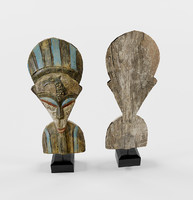 figurine wood 3d max