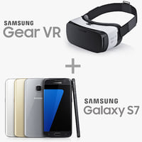 Samsung Gear VR and GALAXY S7