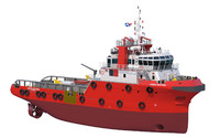 anchor handling tug 3ds