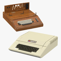 apple e iie 3d max