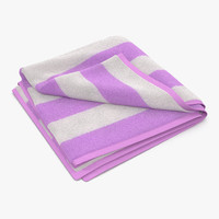max beach towel 2 pink