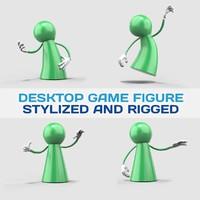3d figure games model