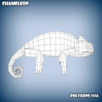 base mesh chameleon 3d c4d