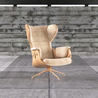 3d model of jaime hayon chair design