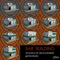 bar 10 levels 3ds