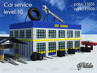 car service level 10 max