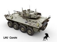 3d model lav coyote