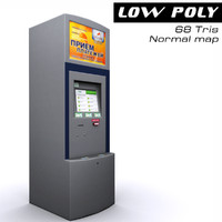 3d payment terminal
