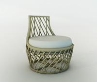 Lounge Chair Rattan