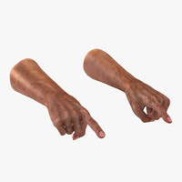 old man hands pose 3d max