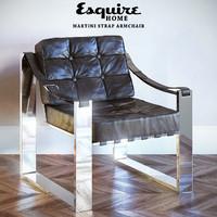 Martini Strap Armchair Esquire HOME