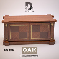 mg 1037 oak industria 3d model