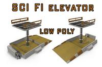 3d lift sci fi