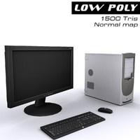 3d model computer ready games