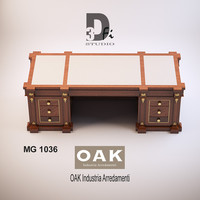3d model mg 1036 oak industria