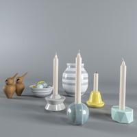 birds candelina obj
