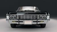 chevrolet impala 67 3d max
