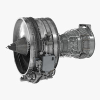 3d turbofan engine cfm international model