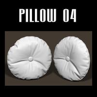 3d pillow interiors model