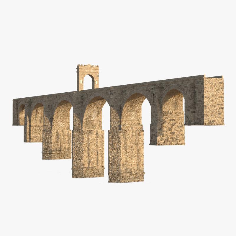 Alcantara Bridge 3d model 01.jpg