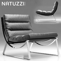armchair natuzzi cammeo 3d model