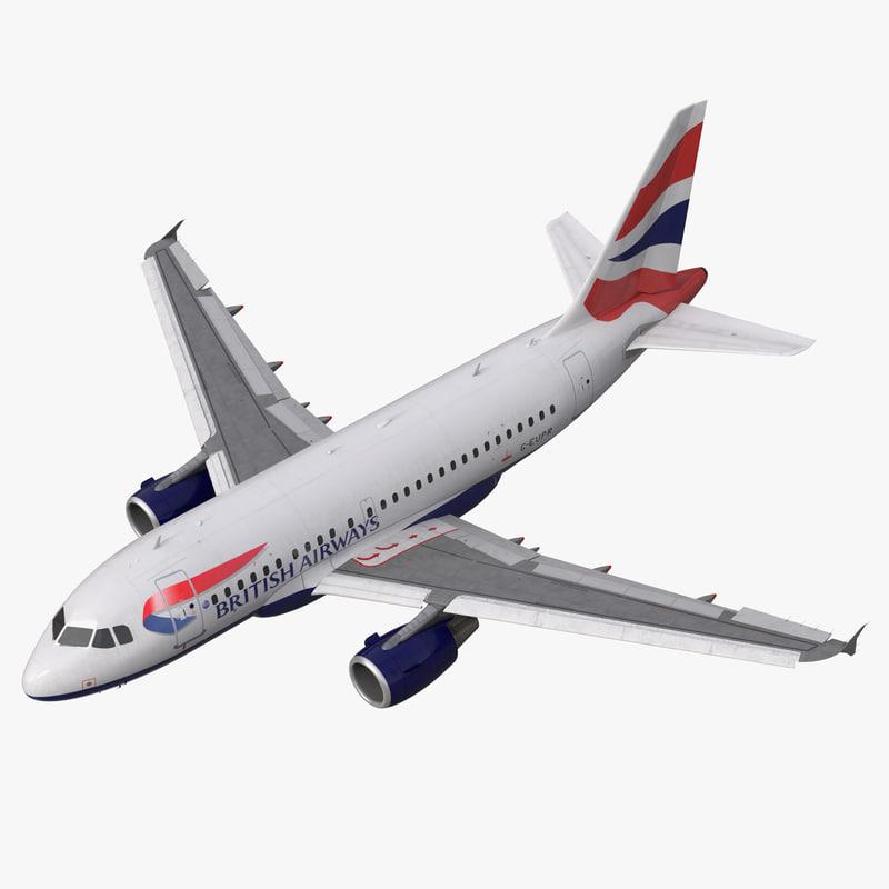 Airbus A318 British Airways Rigged 3d model 01.jpg