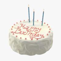 3d c4d cake 01