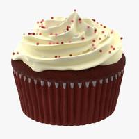 cupcake 03 3d obj