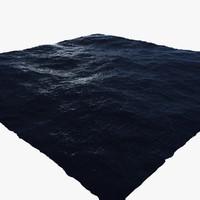 ocean scene 3d max
