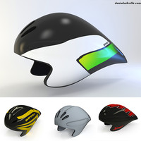 3d model time trial helmet