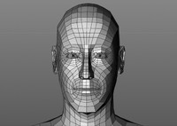 head base mesh basemesh 3d model