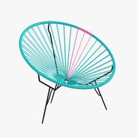 3d authentic acapulco chair