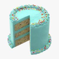 3d model of cake 03