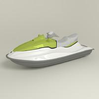 3d jet ski model