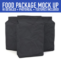 package mock 3d model