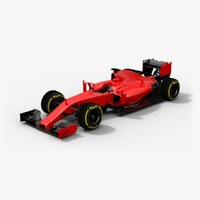 3d generic formula 1 2016 model