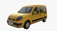 Renault Kangoo lowpoly