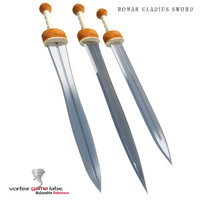 3d roman gladius