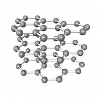 3d graphene sheet model