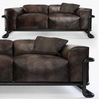 3d model of halo huntington sofa