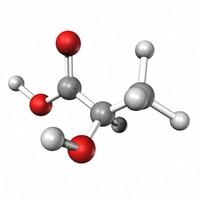 lactic acid 3d model
