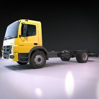 mercedes benz atego 3d 3ds