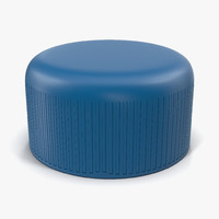 3ds plastic bottle cap