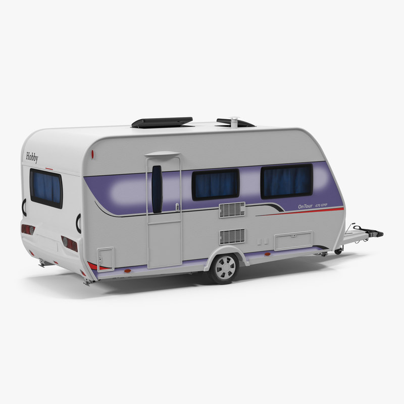 Hobby Caravan Ontour 3d model 01.jpg
