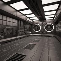 max sci fi interior room