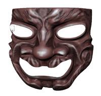 3d mask samurai