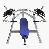 gym equipment chest press max